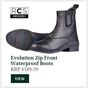 Evolution Zip Front Waterproof Boots