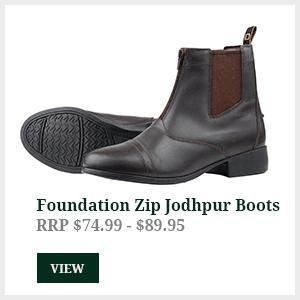 Foundation Zip Paddock Boots