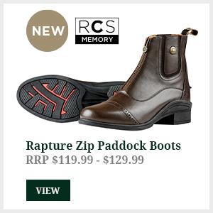 Rapture Zip Paddock Boots