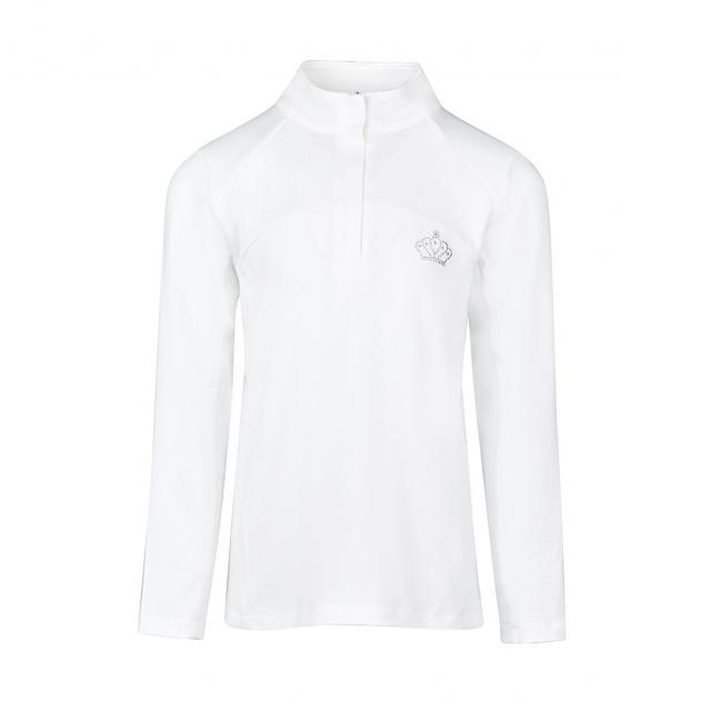 Dublin Bella Long Sleeve Competition Shirt White