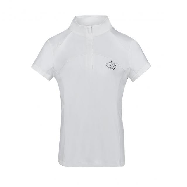 Dublin Bella Short Sleeve Competition Shirt White