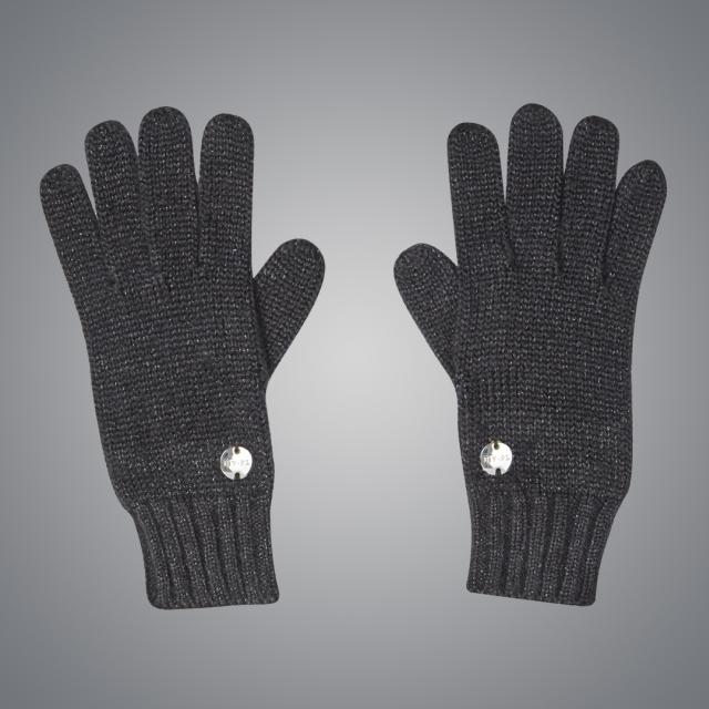 Dublin Black Roxanne Gloves Black Lurex