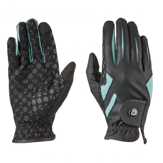 Dublin Cool-It Riding Gloves Black/Teal