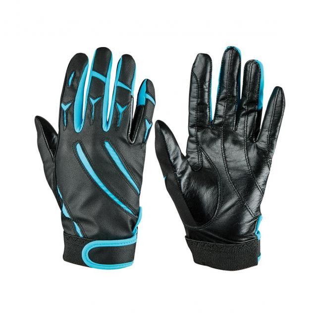 Dublin Elite Schooling Gloves Black/Blue