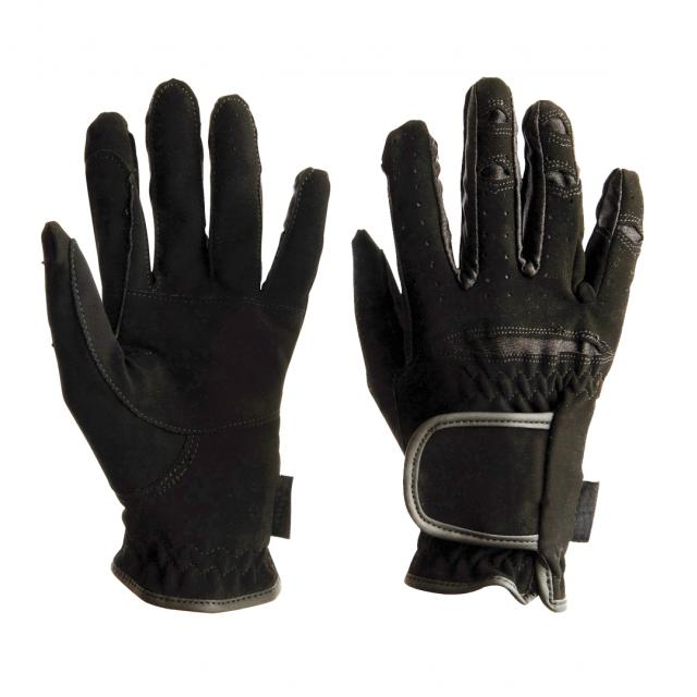 Dublin Everyday Mighty Grip Riding Gloves Black