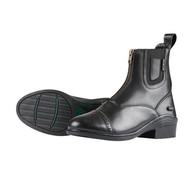 Dublin Evolution Zip Front Paddock Boots Black