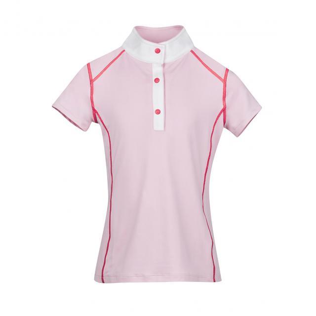 Dublin Faith Short Sleeve Show/Competition Shirt Blush