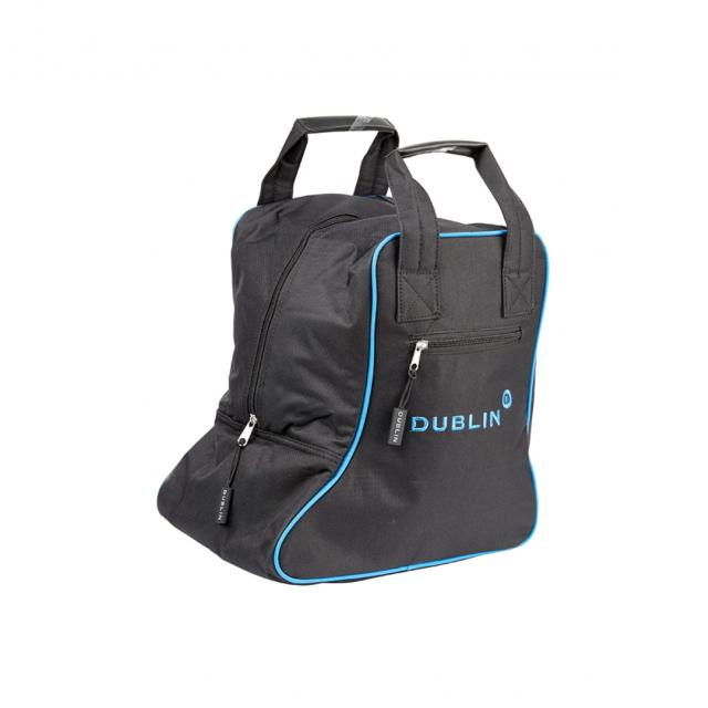 Dublin Imperial Short Boot Bag Black/Blue