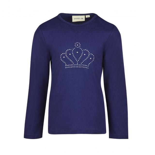 Dublin Karla Crown Long Sleeve Top True Navy
