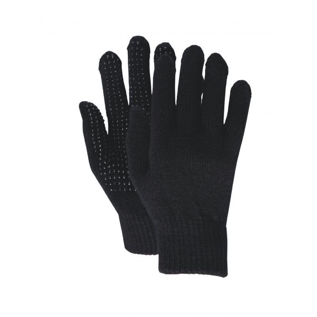 Dublin Magic Pimple Grip Riding Gloves Black