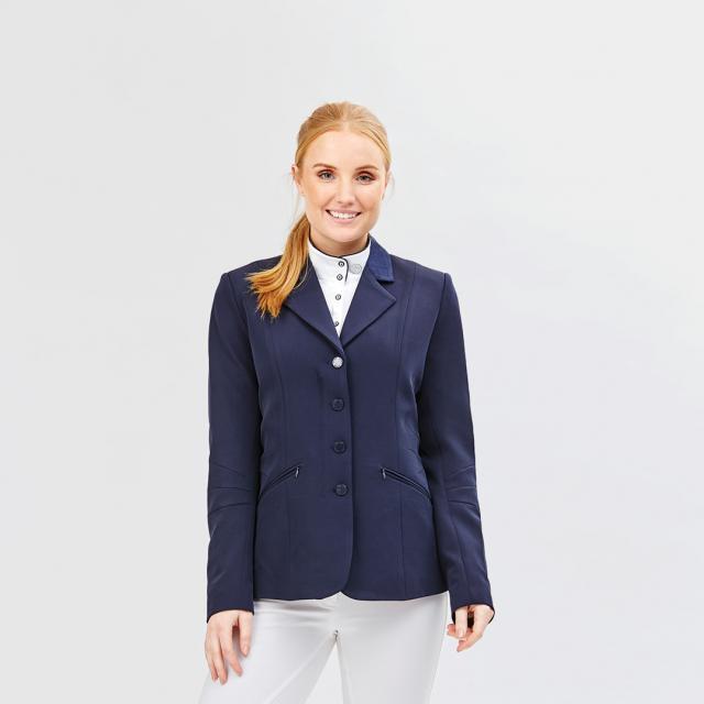 Dublin Michelle Tailored Riding Jacket Navy