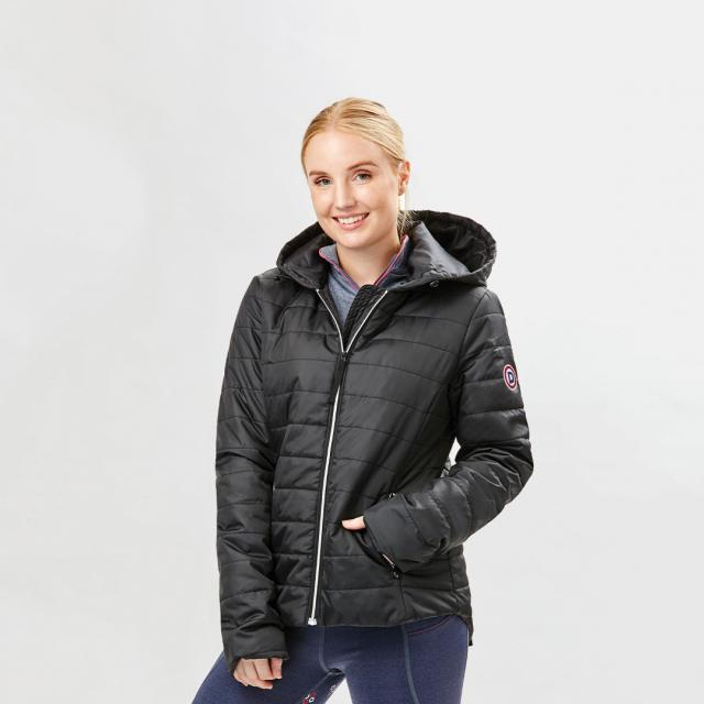 Dublin Naomi Puffer Jacket Black
