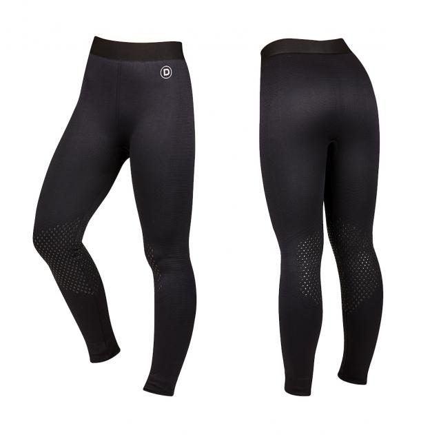 Dublin Nova Seamless Gel Knee Performance Tights Charcoal