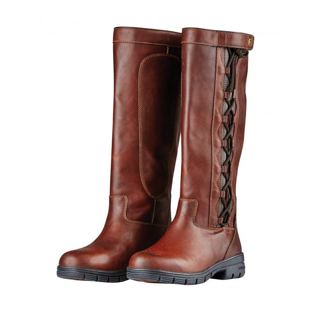 Dublin Pinnacle Grain Boots II Red Brown