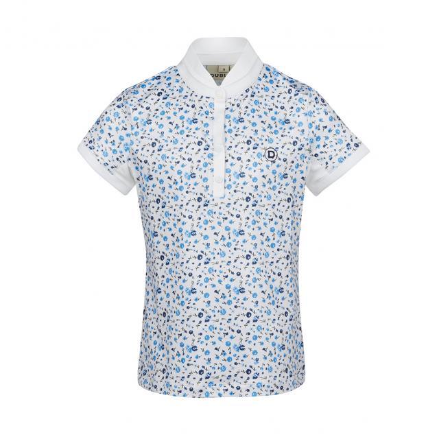 Dublin Shira Printed Show Shirt Multi Blue