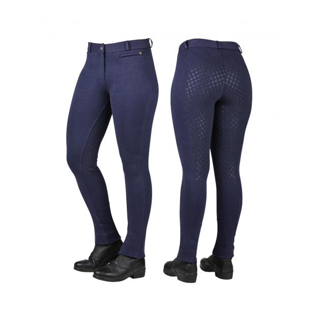 Dublin Supa-Fit Gel Jodhpurs Navy