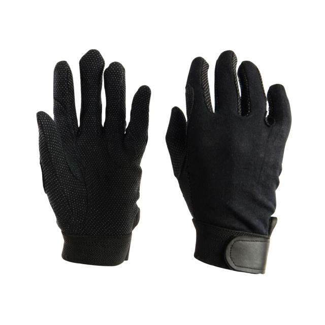 Dublin Track Riding Gloves Black