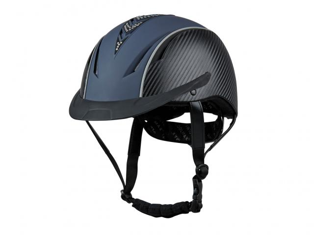Dublin Airation Arrow Diamante Lite Helmet Navy