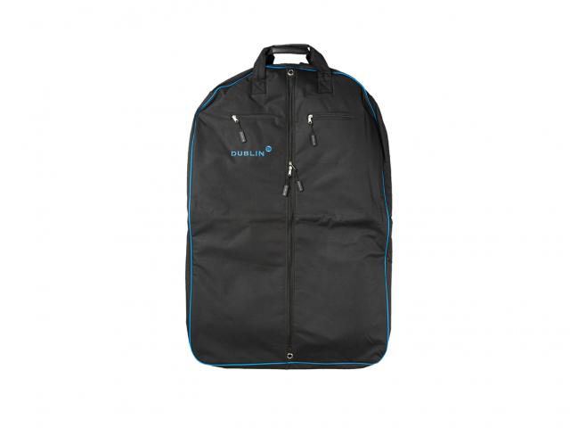 Dublin Imperial Coat Bag Black/Blue