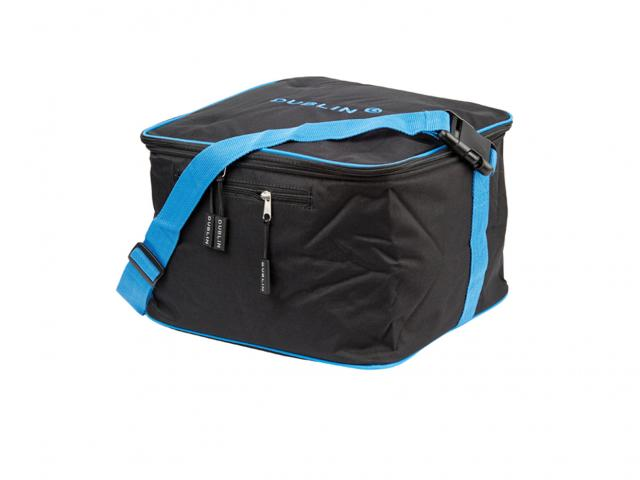 Dublin Imperial Hat Bag Black/Blue