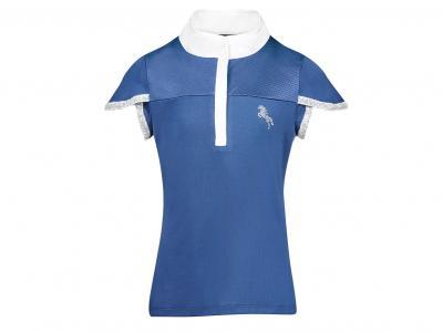 Dublin Olivia Short Sleeve Competition Shirt Navy