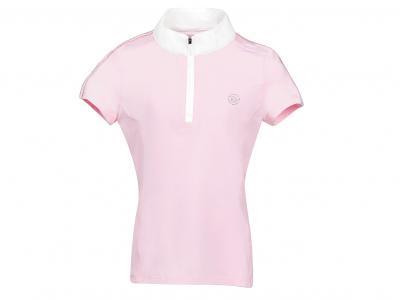Dublin Macy Short Sleeve Competition Shirt Blush