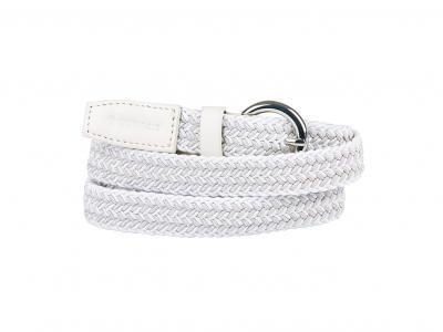 Dublin Sally Webbing Belt White