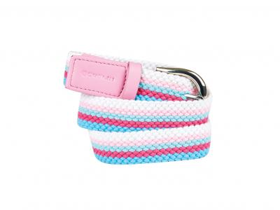 Dublin Joanna Webbing Belt Pink/Bachelor