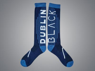 Dublin Black Pippa Cool Tec Socks Majolica Blue
