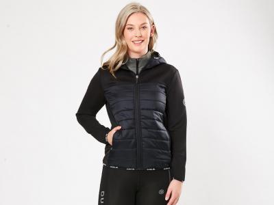 Dublin Cassandra Puffer Softshell Jacket Black