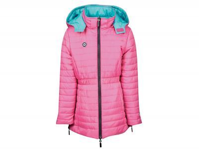Dublin Mina Reversible Puffa Jacket Magenta Pink/Turquoise