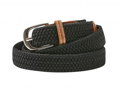Dublin Classic Webbing Belt Black