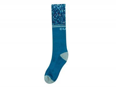 Dublin Adults Single Pack Print Socks Blue Lagoon