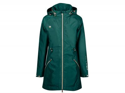 Dublin Black Aida Year Round Waterproof Jacket Emerald Green