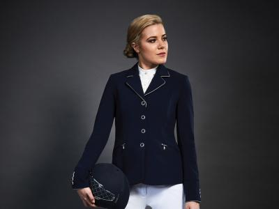 Dublin Black Diana Competition Tailored Jacket Navy