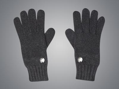 Dublin Black Roxanne Gloves Black Lurex