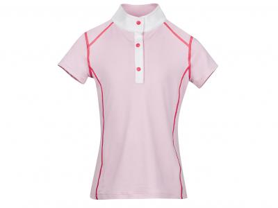 Dublin Faith Short Sleeve Show/Competition Shirt Blush
