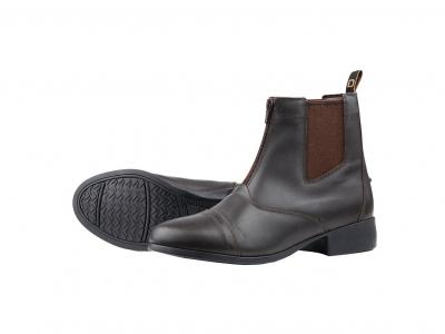 Dublin Foundation Zip Paddock Boots Brown