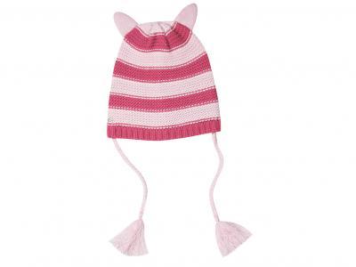 Dublin Helena Beanie Hot Pink/Blush/White