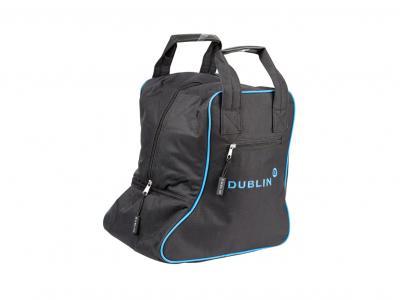Dublin Imperial Short Boot Bag Black/Blue