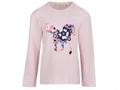 Dublin Karla Horse Long Sleeve Top Blush