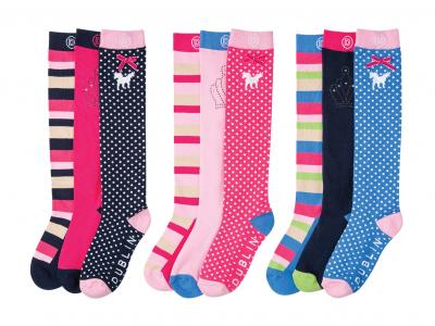 Dublin Lilah Play 3 Pack Socks