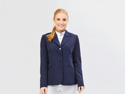 Dublin Michelle Tailored Riding Jacket Navy