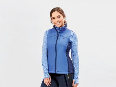 Dublin Sachi Softshell Vest Blue