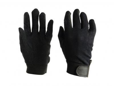 Dublin Track Riding Gloves Black