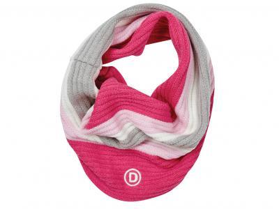 Dublin Wendy Girls Snood Hot Pink/Blush/White/Grey
